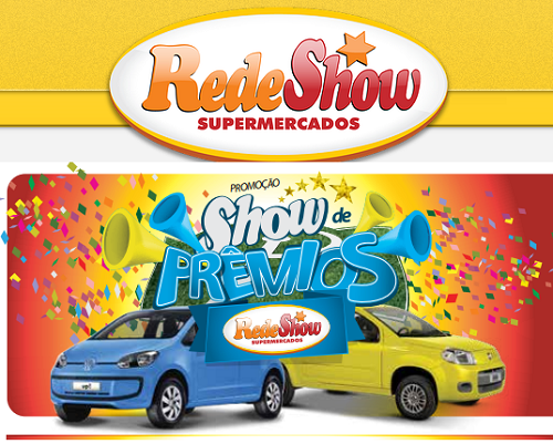 Como participar promoção Supermercados Rede Show