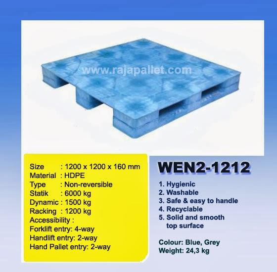 Pallet Plastik Murah WEN2-1212
