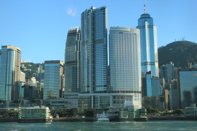 Two International Finance Centre (IFC) includes the upmarket ifc mall and four Seasons Hotel on Hong Kong Island in Hong Kong