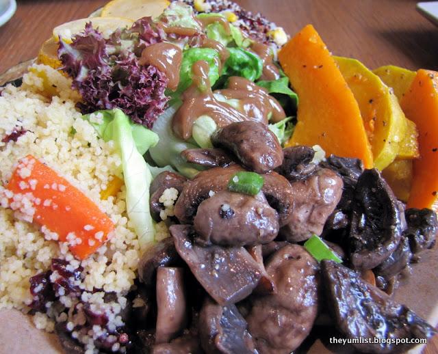 healthy restaurant, kuala lumpur