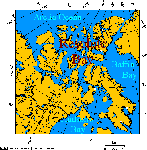 Map of Resolute Bay Detailed Pictures – Map of Canada Detailed