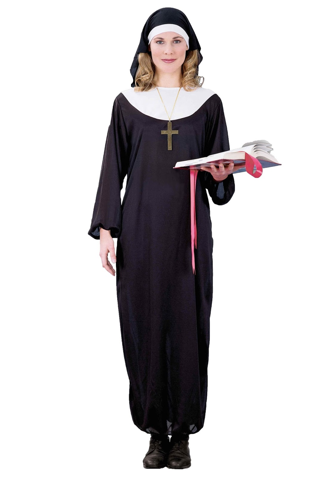 you want to go as a priest for halloween