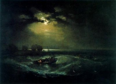 """Pescadores en el mar"" · William Turner"