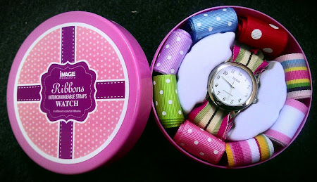 Ribbon Watch : Tawaran Hebat Beli Jam Free 9 Tali Jam YAng Sangat Cute Dan Colorful!