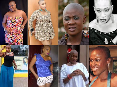 list of bald nollywood actresses