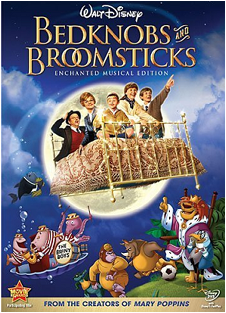 The 'Bedknobs and Broomsticks' Bed