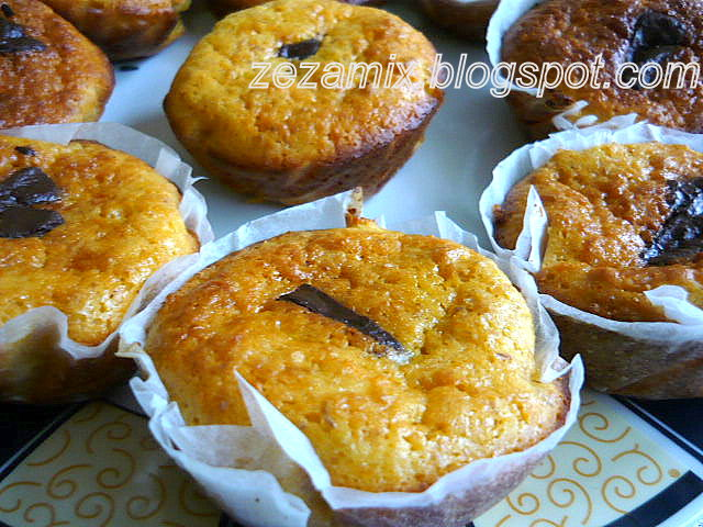 Kolačići od zobenih pahuljica, mrkve i mandarine (muffins)