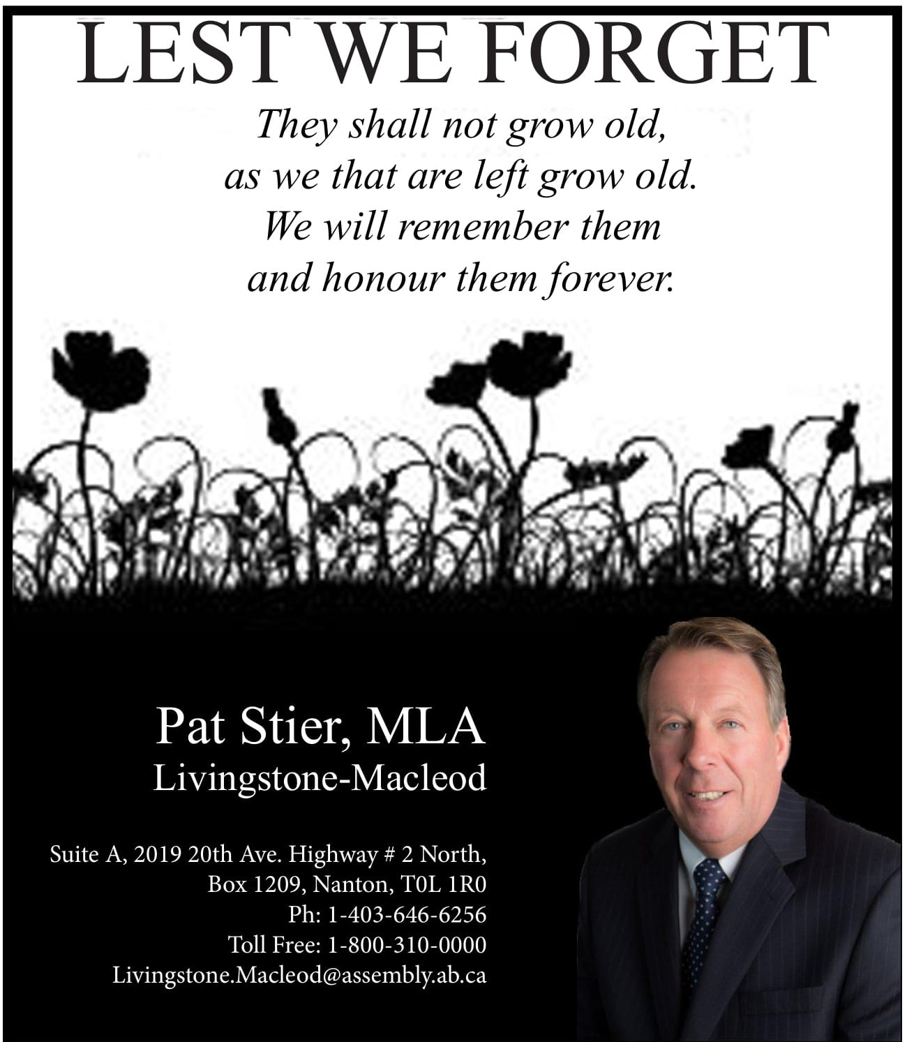 MLA Rememberance