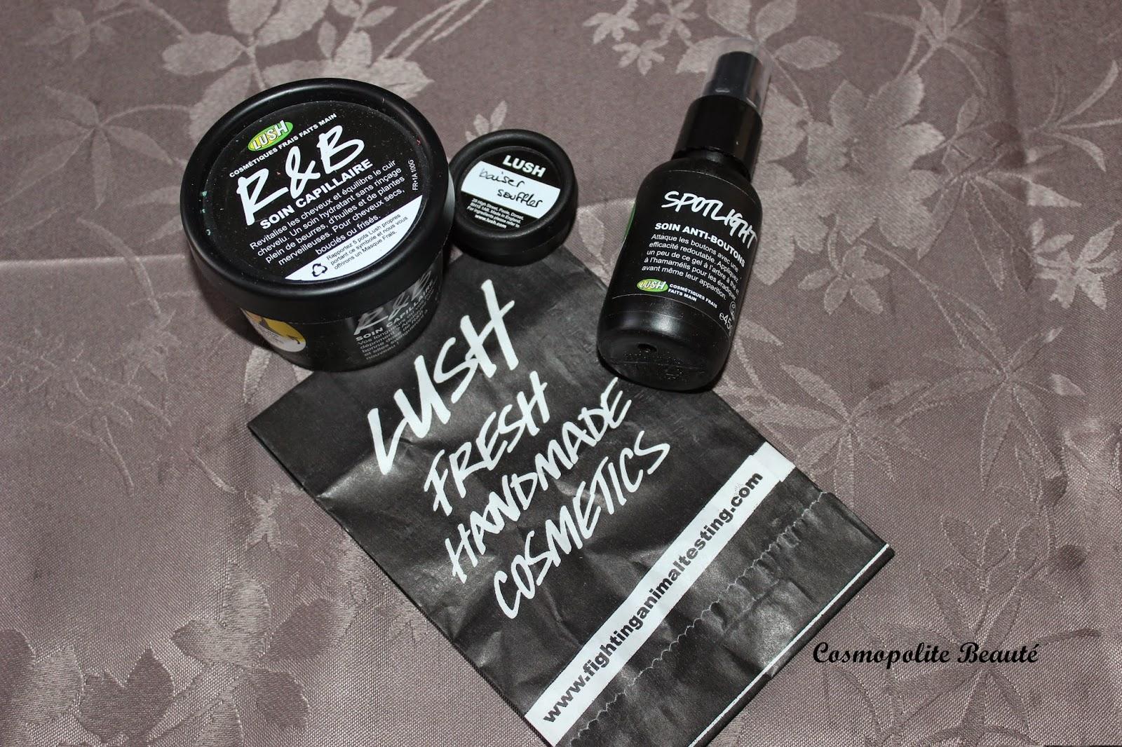Lush, soin capillaire, R&B, blog beauté, beautyblog, frenchblogger, soin sans rinçage, crème capillaire, entretien cheveux.