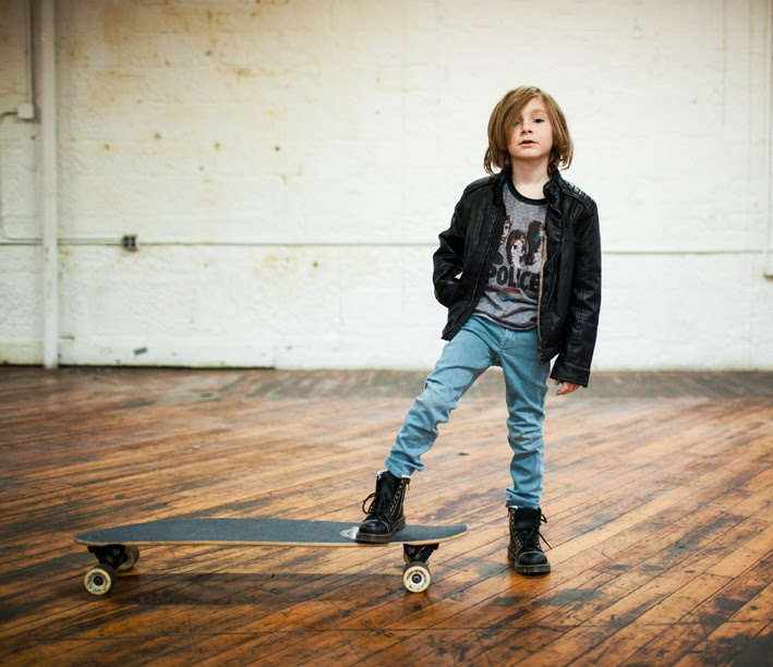 Cool boys' clothes for Dirt & Noise kidswear shop holiday look book 2014