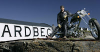 the ardbeg chopper motorbike