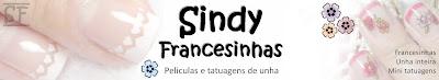 Sindy Francesinhas - Adesivo de unha inteira, películas de unha, francesinhas, variados.