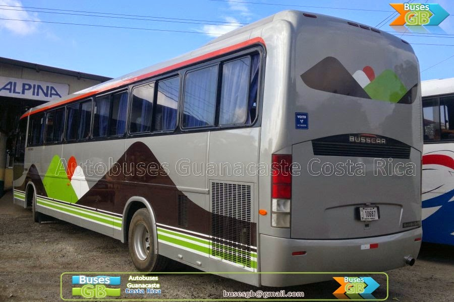 Autobuses guanacaste costa rica busesgb monte verde for Mercedes benz in san jose