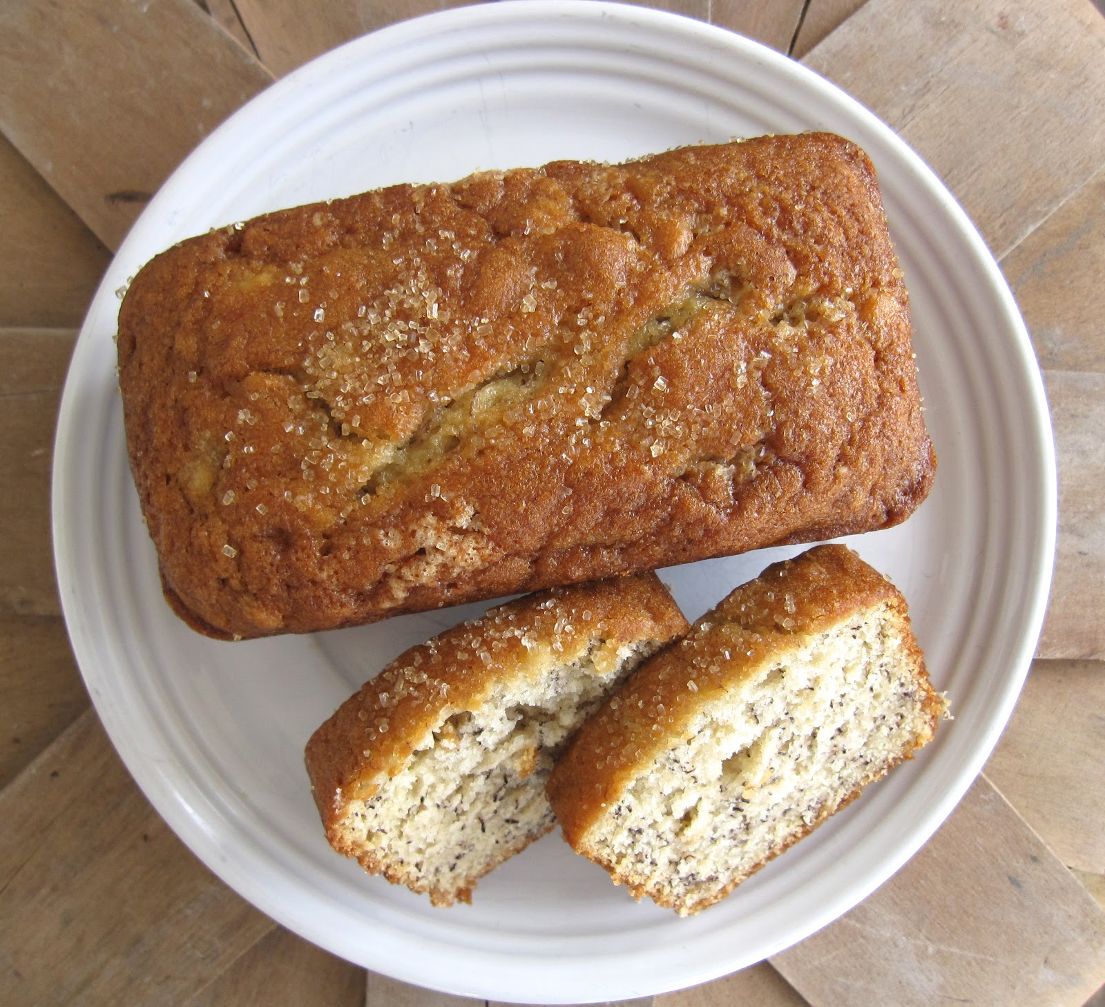 BLISSFUL ROOTS: Sour Cream Banana Bread