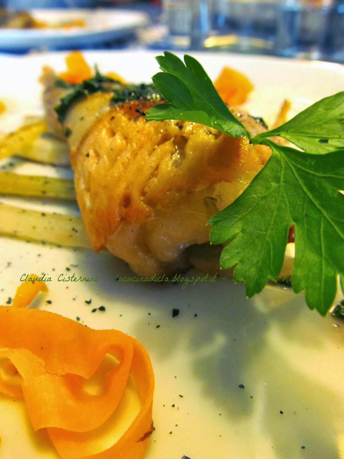 C ¨ sempre un piatto adeguato all occasione questo che vi propongo ha i sentori ferrosi del Sale Nero di Cipro e le note del mare con uno dei pesci pi¹