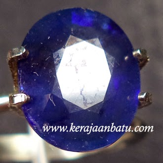 Batu Blue Safir Corundum