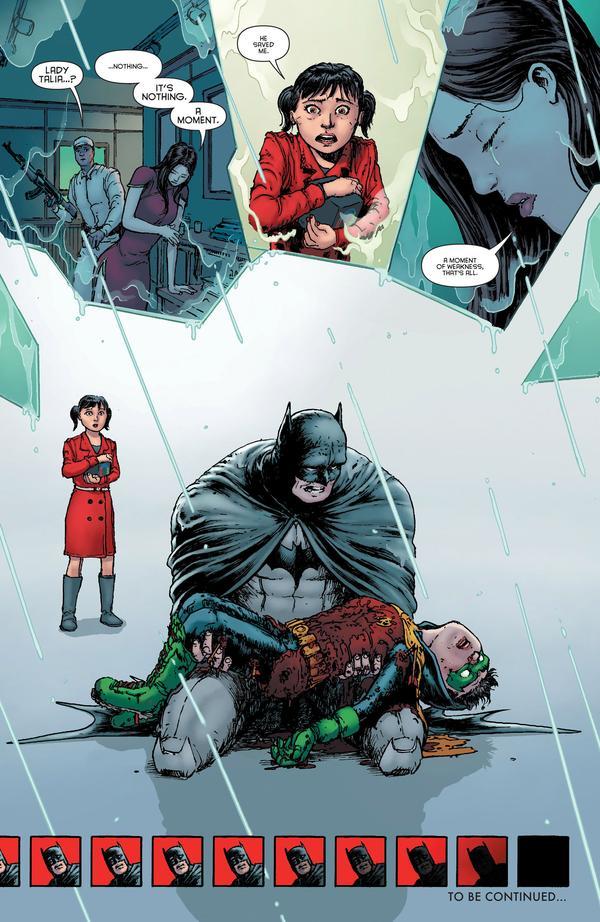 La muerte de Damian Wayne