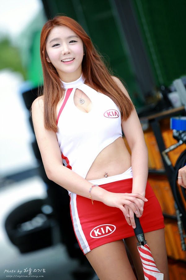 5 Kim Ha Eum - 2014 Korea Speed Festival - very cute asian girl-girlcute4u.blogspot.com
