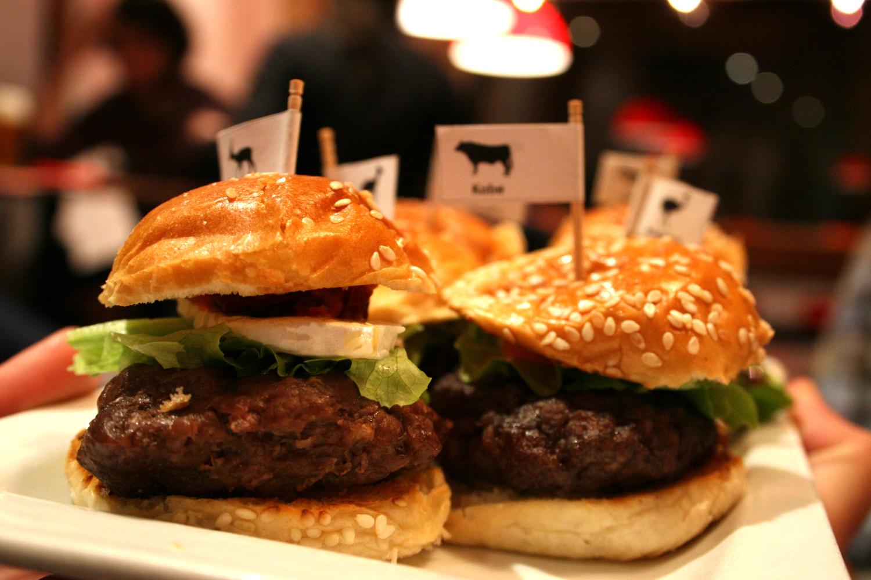 Mini hamburguesas gourmet