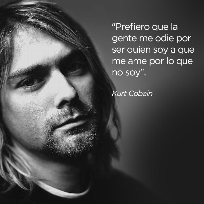 Frase de Kurt Cobain