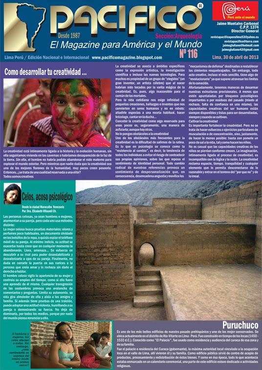 Revista Pacífico Nº 116 Arqueología