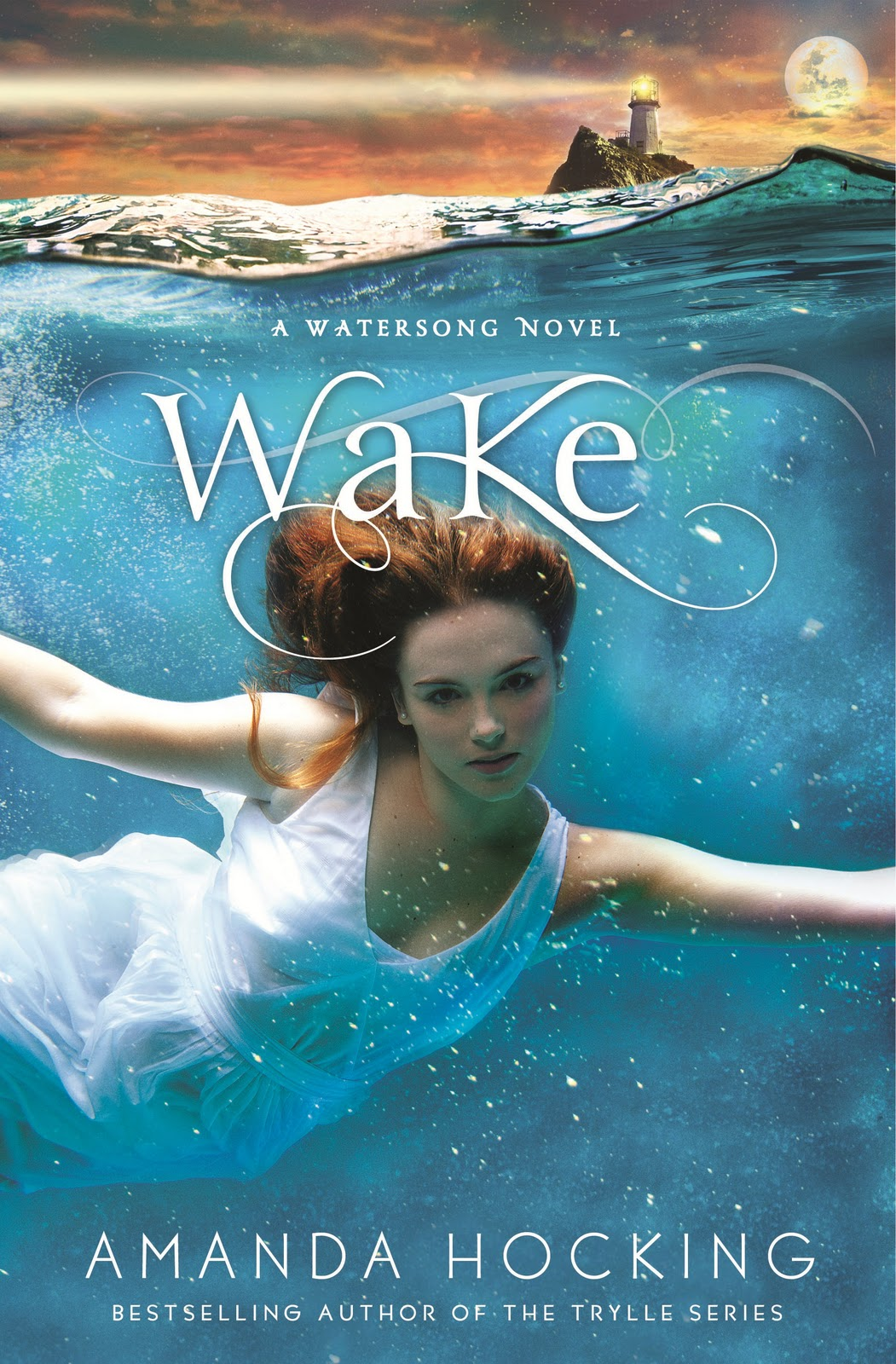 Book Cover Series Y Novelas ~ Reseña sirenas canción de mar amanda hocking el