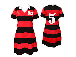 Vestidos do Flamengo