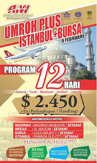 harga Paket Umroh Plus Turki Istanbul Februari 2016 | Travel Umroh Di Jakarta Timur | Travel Umroh AlHijaz