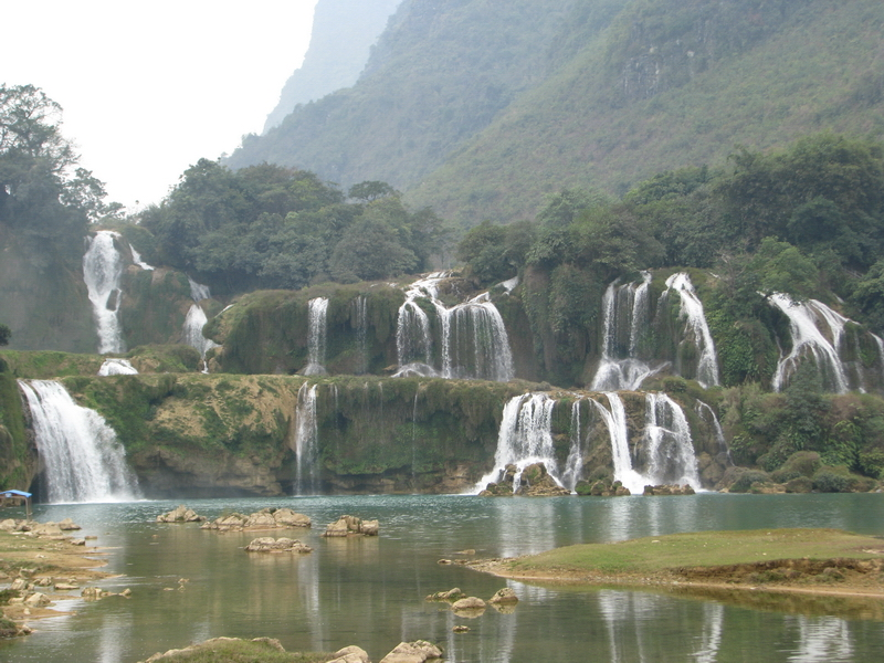 Thác Bản Giốc ở Cao Bằng, Việt Nam
