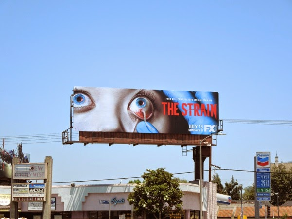 The Strain series premiere billboard