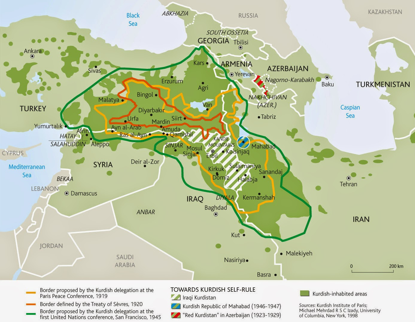 Judaism In Middle East Map