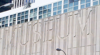 Seattle Art Museum south facade inscription