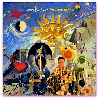 Imagem da capa do álbulm The Seeds Of Love do Tears For Fears