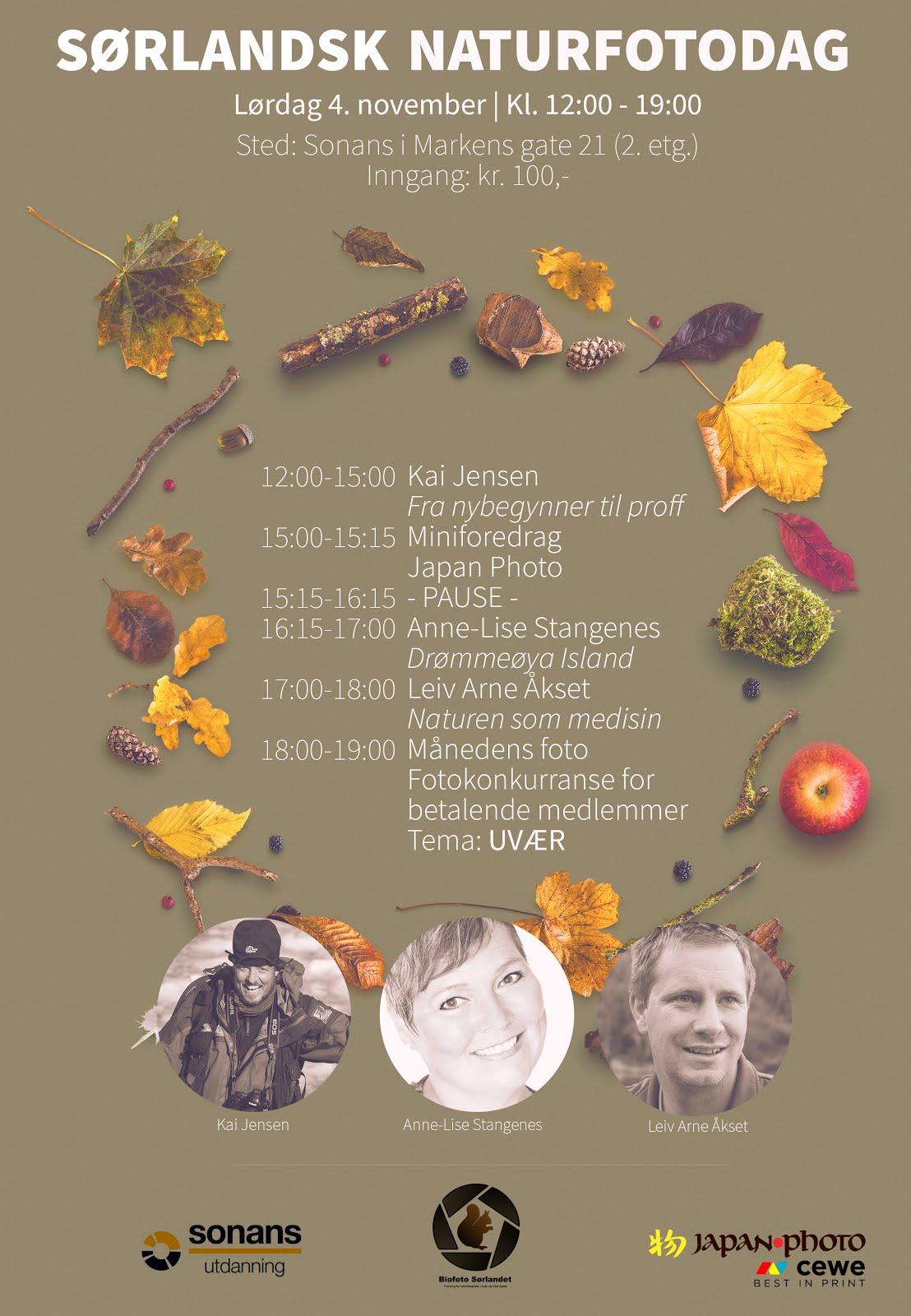 BioFoto Sørlandet inviterer til Sørlandsk naturfotodag