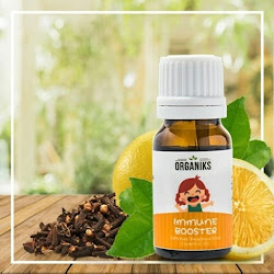 Minyak Aroma Therapy Esensial Oil Daya Tahan Immune Booster Organiks