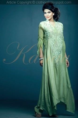 Kanav By Suman Ali Formal wear 2015