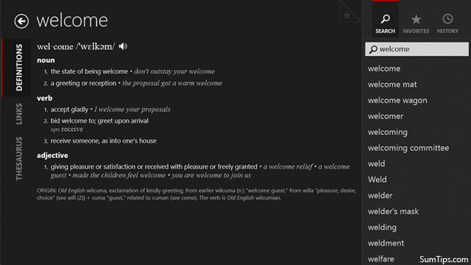 The Best Offline Dictionary Apps for Windows 8