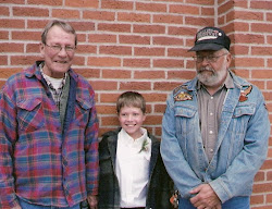 Grandpa White, Ty and Great Uncle Terry