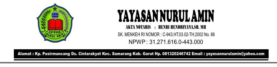 Yayasan Nurul Amin Samarang Garut