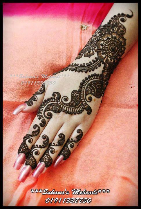 Mehndi Henna By T : Punjabi mehndi designs henna