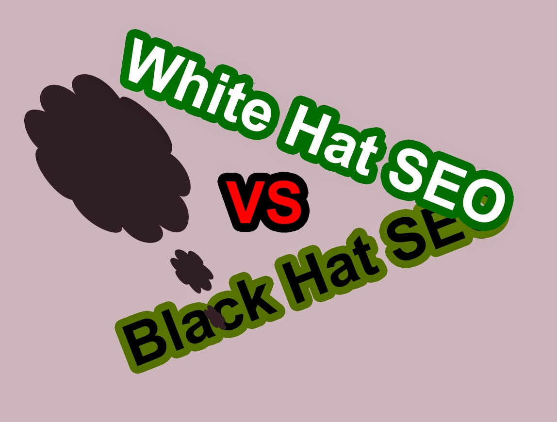 Difference of white hat seo and black hat seo