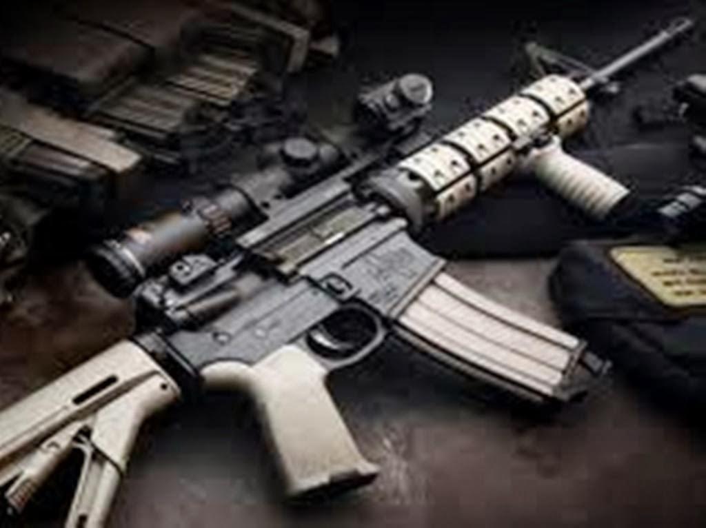 m16 gun wallpaper desktop - photo #10