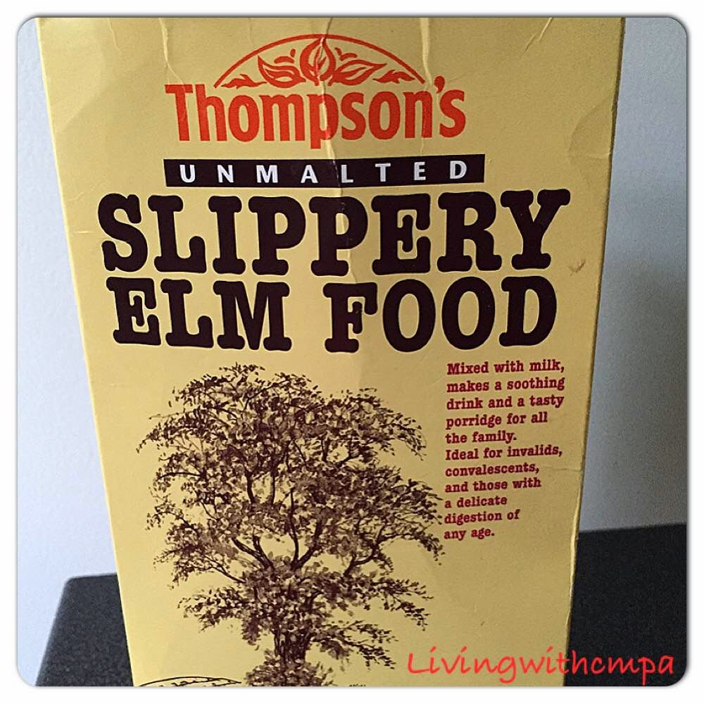 Slippery elm, GERD - Reflux remedy living with cow's milk protein allergy