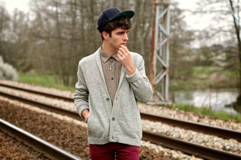 Jack&Jones Cap American Vintage Cardigan Asos Skinny Jeans Blog Mode Homme Mensfashion