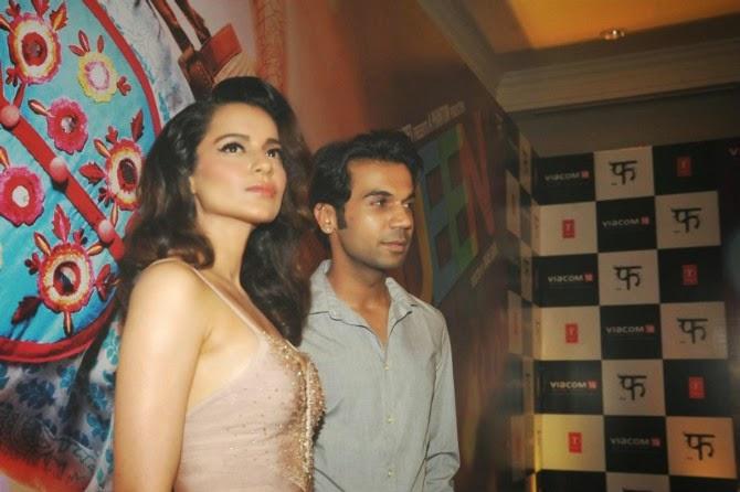 Kangana Ranaut At Queen Movie Success Party
