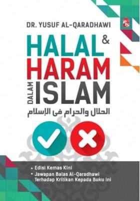 Halal & Haram Dalam Islam Karangan Syeikh Dr. Yusuf Al-Qaradhawi | Pre-Order