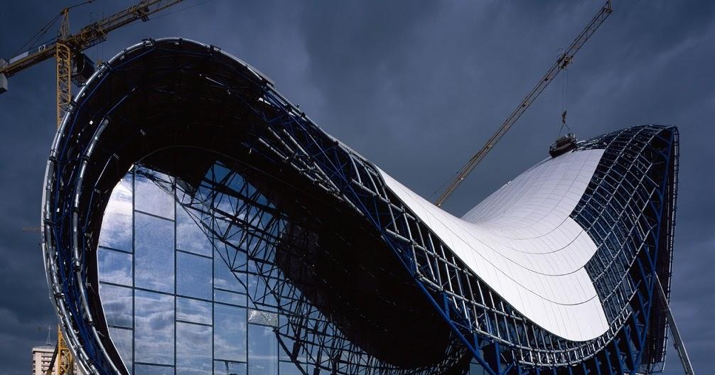 Structure Design of HEYDAR ALIYEV CENTER / Zaha Hadid