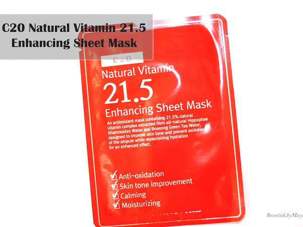 Natural Vitamin 21.5 Enhancing Sheet Mask