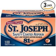 St. Joseph Aspirin Coupon