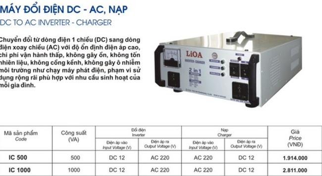 Máy đổi điện DC AC